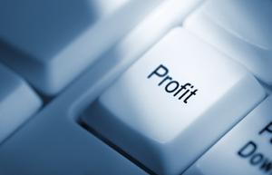 кнопка с надписью прибыль