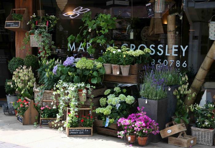 Открытие ультра стильного цветочного магазина