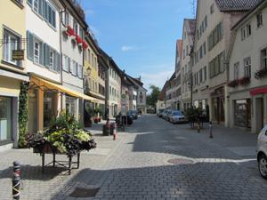 маленький город с небольшим населением