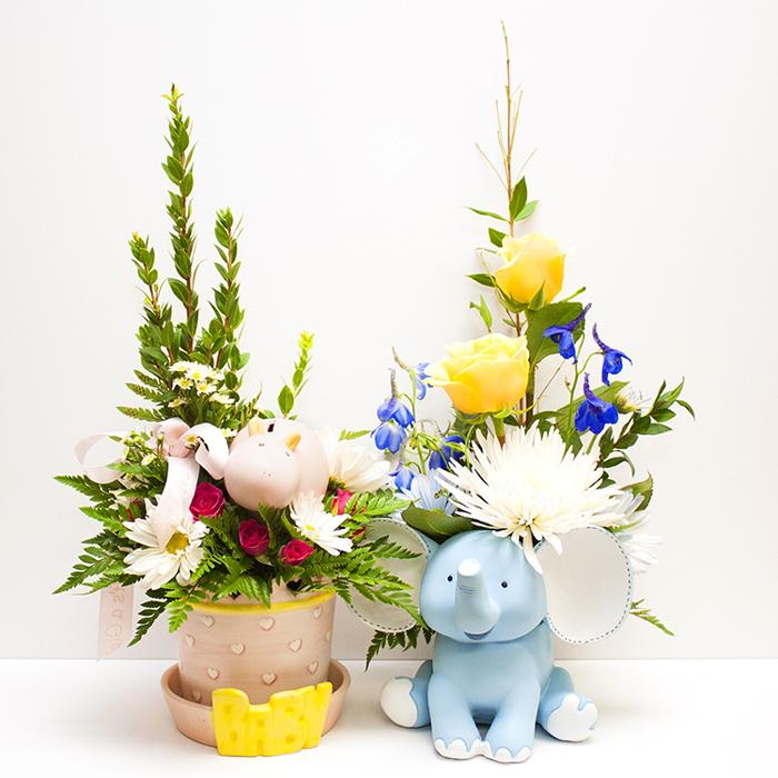 Сувенирные украшения цветов