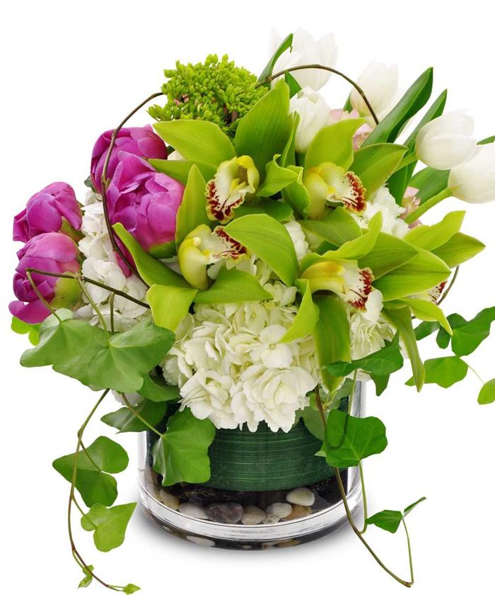 Дизайнерский букет метеора для цветочных салонов