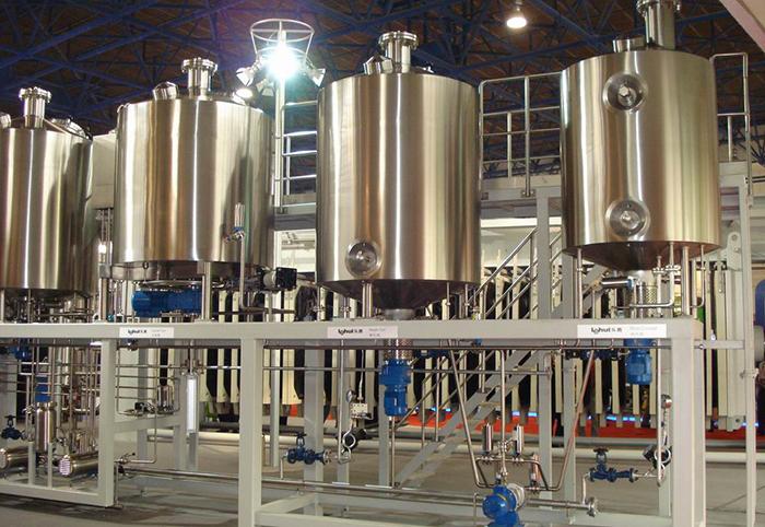 Заводик по производству пива из Китая