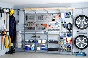 Оборудованный гараж
