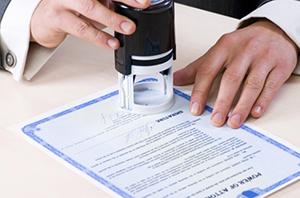 Подписание договора о покупке объекта
