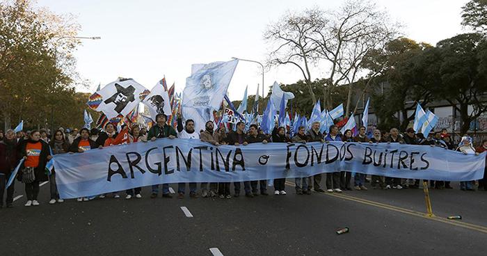 Массовые демонстрации на фоне дефолта в Аргентине