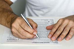 Заполнение документа о доходах