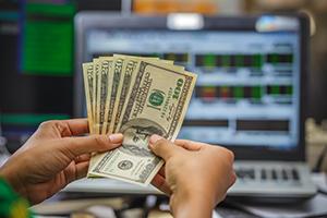 Вложение средств в торговлю на бирже