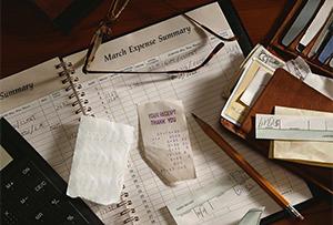 Определение расходов и доходов