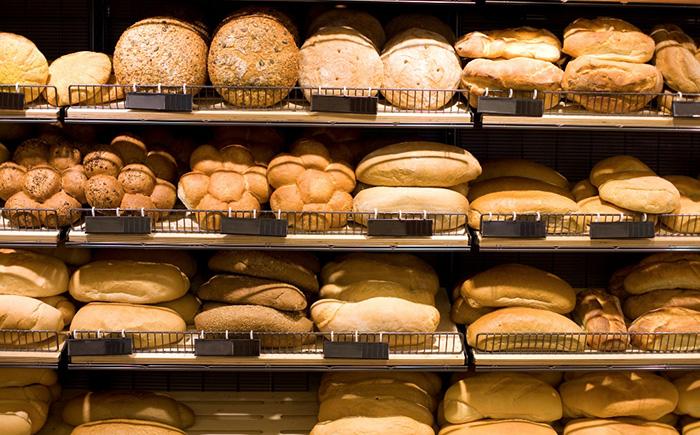 Ассортимент пекарни