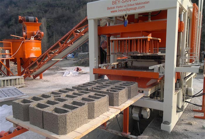 Станок для производства бетонной плитки