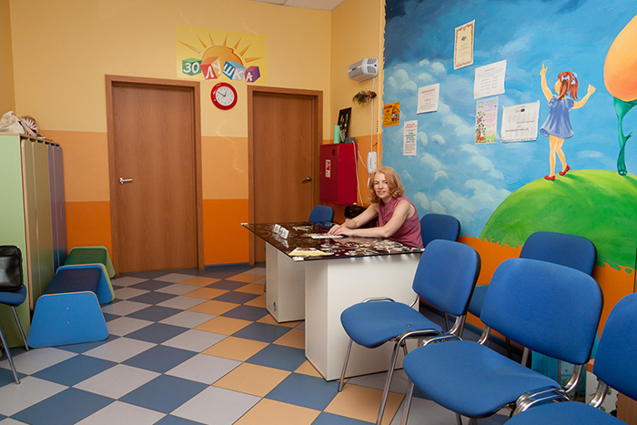 Фойе детского центра