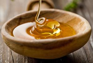 мед в лотке