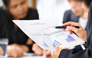 анализ сфер рынка и его графики