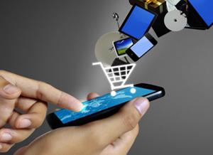 Покупка в онлайн магазине с телефона