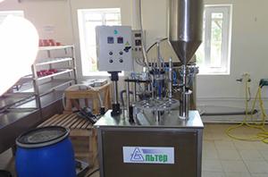 Мини вариант завода по производству молока