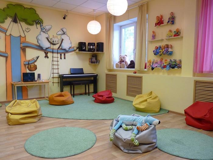 Игровая комната в частном детском саду