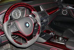 Аквапринт в автомобиле