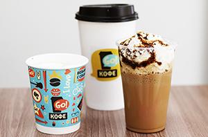 Продукция бренда Go кофе