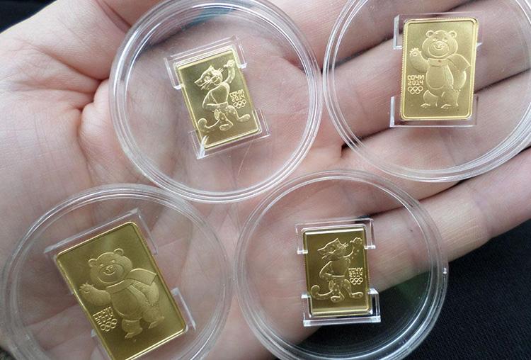 Сбербанк - золотые слитки