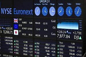 Торговля на фондовой бирже мира
