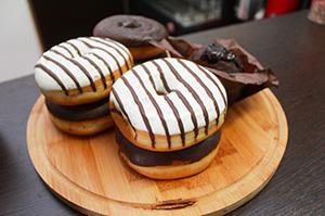 Пончики в Кофе Лайк