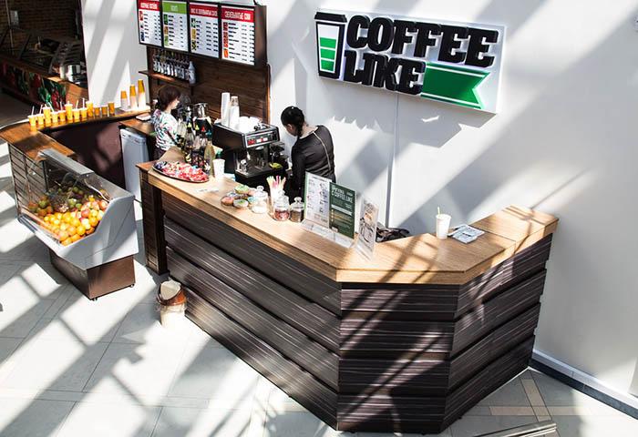 Кофе Лайк - точка продаж