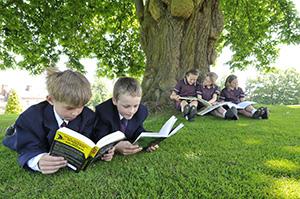 Дети в частной школе