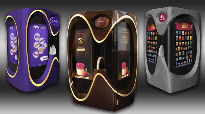 Продажа кондитерских изделий посредством автоматов