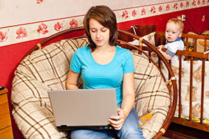 Заработок для мамы в декрете