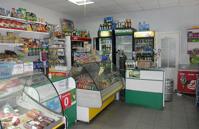 Точка продажи продуктов