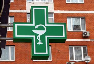 Световой аптечный крест