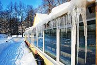 Тепличное хозяйство зимой