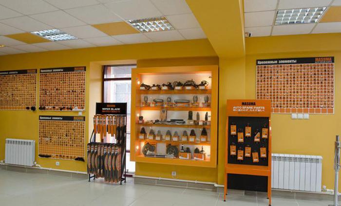 Дизайн помещения магазина запчастей по франчайзингу