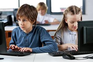 Школьники в интернете