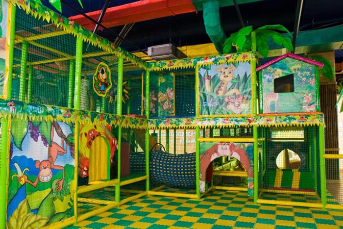 Развлекательный центр для детей в молле