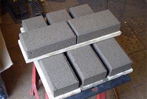 Мини-станок для производства тротуарной плитки
